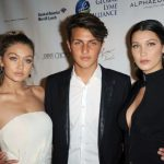 Gigi with her brother Anwar and sister Bella