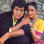 Govinda with Neelam