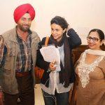 Gul Panag With Her Parents