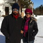 Gul with her brother Sherbir