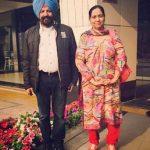 Gurleen Chopra parents