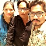Haarsh Limbachiya with his parents
