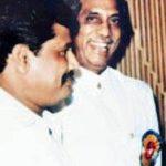 Haji Mastan with his Son Sundar Shaekhar