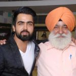 Hardy Sandhu with his father