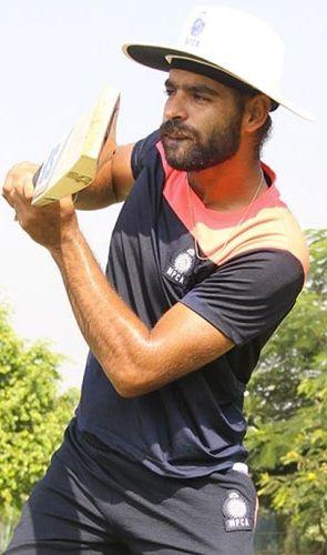 Harpreet Singh Bhatia batting