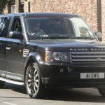 Harry in Range Rover Sport