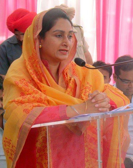 Harshimrat Kaur Badal