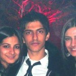Rhea Kapoor with her brother and sister