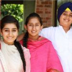 Harsimrat Kaur Badal (left), Gurleen Kaur (center), Anantbir Singh (Right)