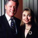 Hillary Clinton with husband Bill Clinton