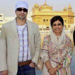 Hina Rabbani Khar with her husband