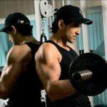 Hrithik Roshan Doing Workout