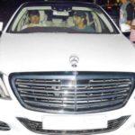 Hrithik Roshan In His Car Mercedes S500