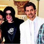 Hrithik Roshan with Micheal Jackson