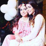 Humaima Malick with her sister Dua Malik