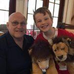 Iain with his grandpa Richard Lee Armitage