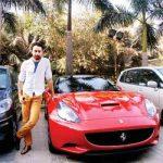 Imran Khan's Car Ferrari California