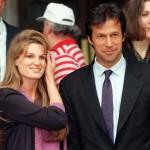 Imran Khan with his Ex-wife Jemima Goldsmith