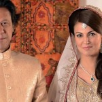 Imran Khan with his Ex-wife Reham Khan