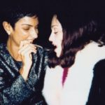 Ingrid Casares with Madonna