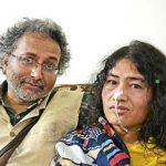 Irom Sharmila With Her Pacar Desmund Coutinho
