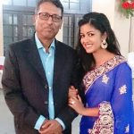 Ishita Dutta with her father