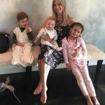 Ivanka Trump with her children
