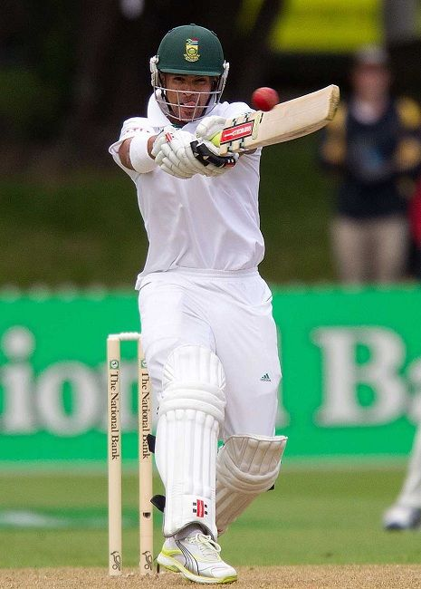 JP Duminy batting