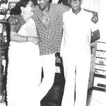 Jackie Shroff with his parents