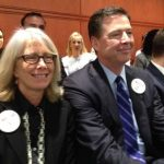 James Comey with his Wife