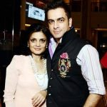 Jas Arora with his wife