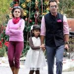 Jas Arora with his daughter