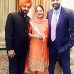 Jashan Singh with parents