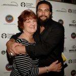 Jason Mamoa with his Mother Coni Momoa