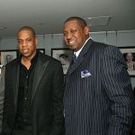 Jay Z with his brother Eric Carter