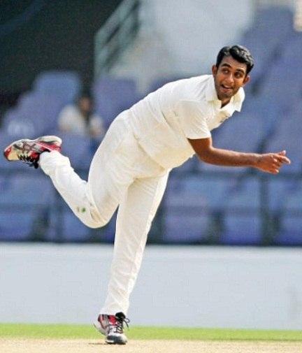 Jayant Yadav playing for Haryana domestic cricket