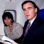 Jerry Brown with girlfriend Linda Ronstadt