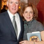 Jerry Brown with wife Anne Gust