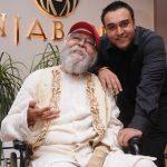 Zorawar Kalra with his Father