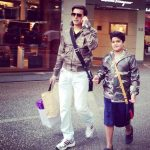 Jimmy Shergill with his son Veer