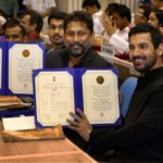 John Abraham Gets Honoured For His First Production
