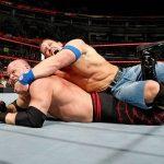 John Cena STF Lock