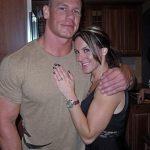 John Cena with Wife