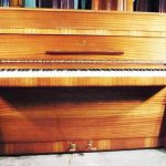 John Lennon Steinway Model Z upright piano
