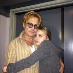 Johnny Depp with his Daughter Lily-Rose Melody Depp