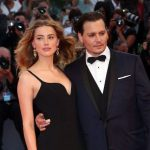Johnny Depp with his Ex-wife Amber Heard