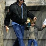 Johnny Depp with his son John Kristopher Depp III