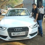 johny-lever-with-his-audi-car