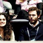Juan Mata with his sister Paula Mata