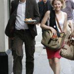 Julian with Sarah Harrison
